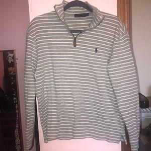 Men's Polo Ralph Lauren 3/4 zip sweater size small